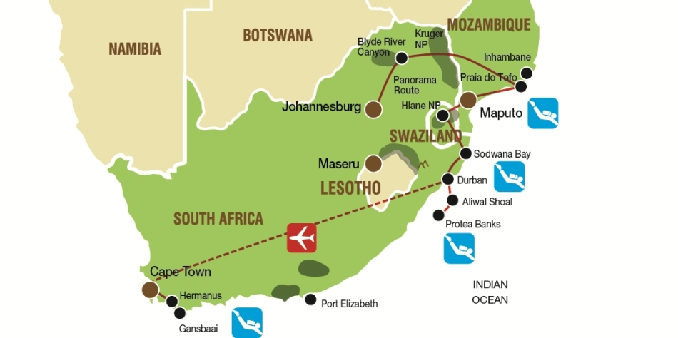 South African Dive Safari with Nomad Africa Adventure Tours and Lutwala Dive