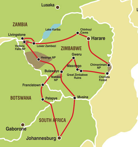 16 Day Camping Zimbabwe Rediscovered Tour