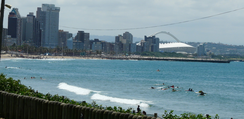 The Durban Beachfront and Marine Parade