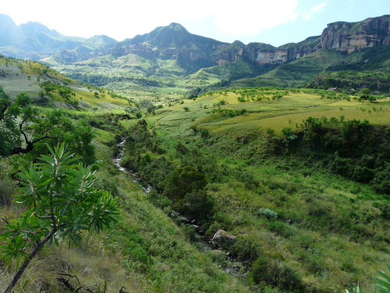 The hills are alive, with the Sound of Music, spectacular Drakensberg scenery