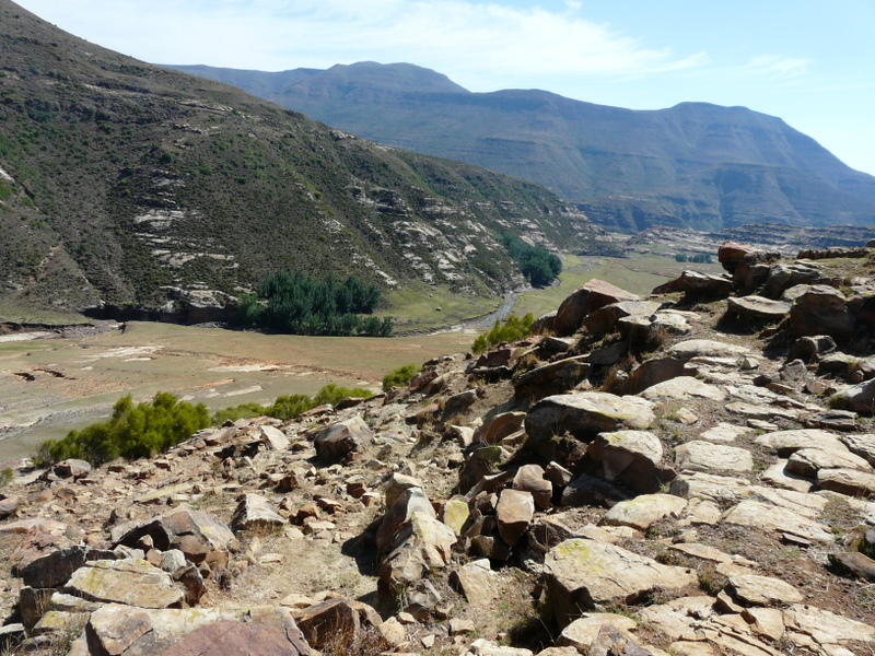 One of the views from our Lesotho hike