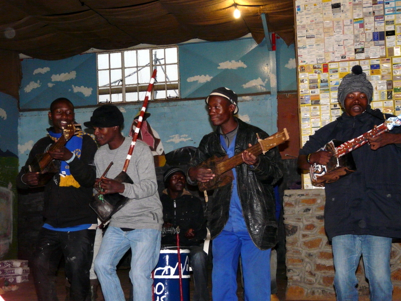 The wonderful local Sotho Sounds Band!