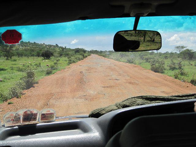 The roads in East Africa are not for the feint hearted!